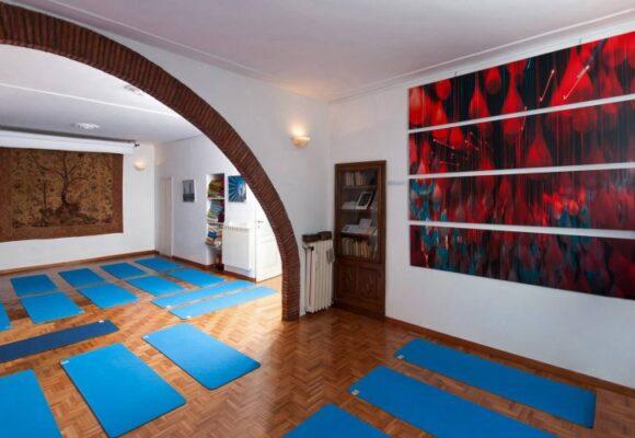 Sala del Centro studi yoga Roma